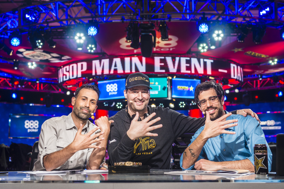 Pemegang Rekor World Series of Poker - Phil Hellmuth