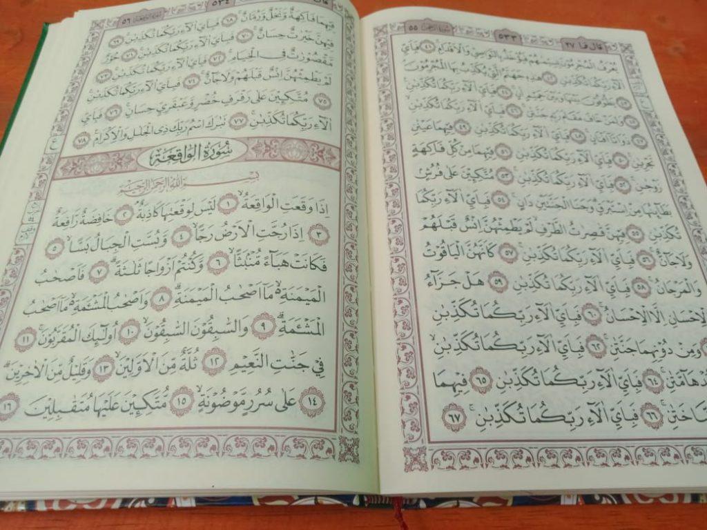 Manfaat Membaca Surat Al Waqiah